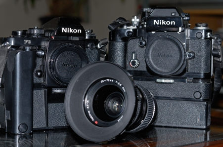 My Nikon F2sb & F3.