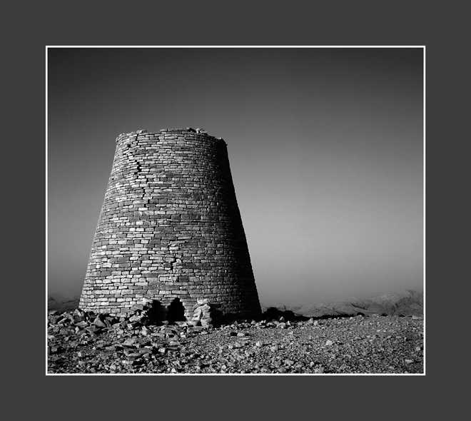 Tomb - Neolithic B & W Toned