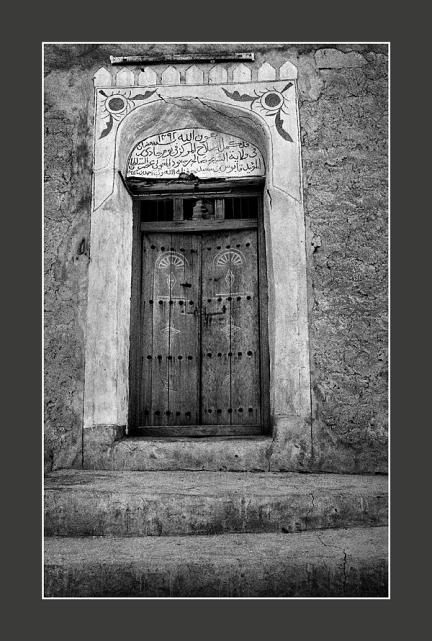 Decorated-door