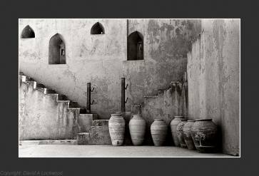 Storage pots - Jabrin Fort