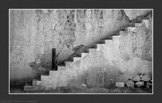 Steps Nizwa Fort