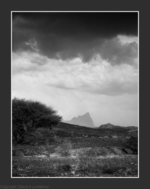 Storm over Jebel Misht