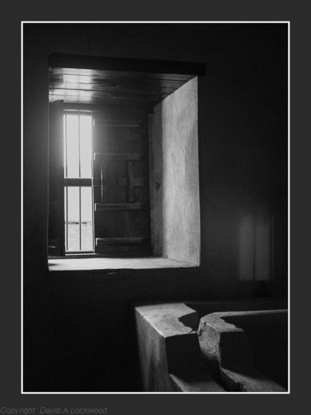 Window light Nizwa Fort
