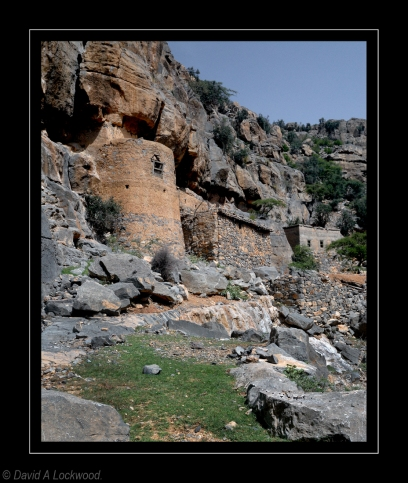 Abandoned village Jebel Akhdar 2