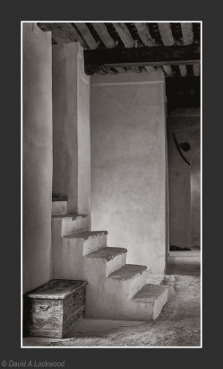 Steps & box Nizwa Fort