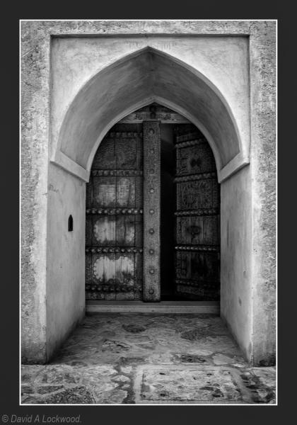 Al Hazm fort entrance