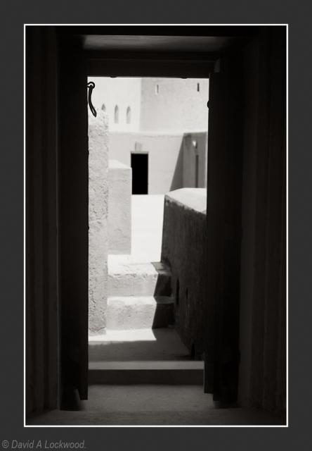 Door with latch