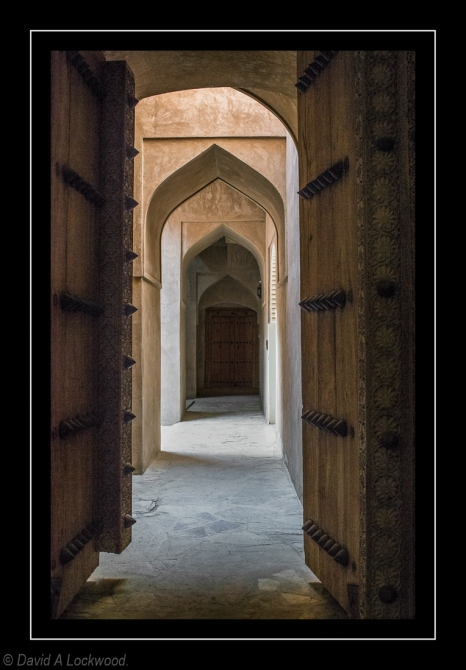 Doors Al Hazm Fort