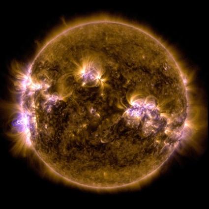 An X-class solar flare