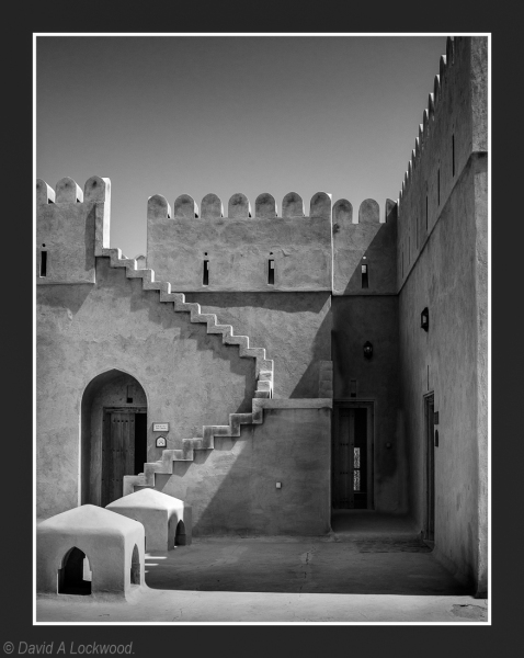 Roof steps Al Hazm
