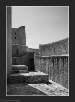 Steps & Door Bahla Fort