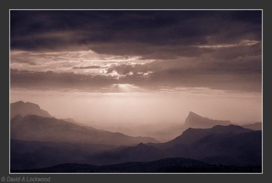 Rising mist - Jebel Shams No2