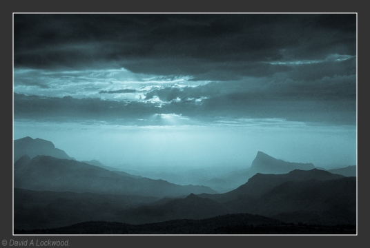 Rising mist - Jebel Shams No3