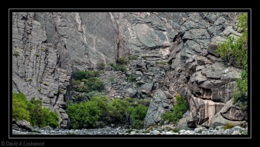 Rock fall - Tanuf