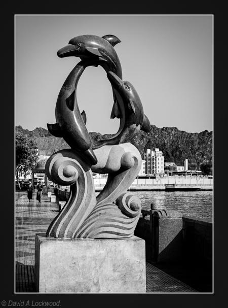 Dolphins - Muttrah Corniche