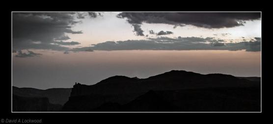 The Devil's finger Jebel Akhdar