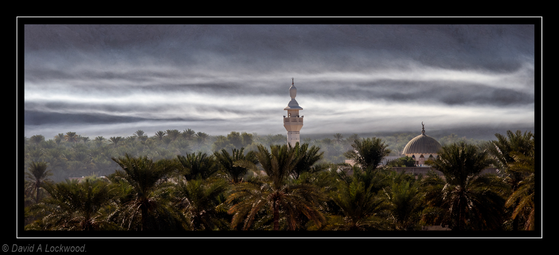 Early morning mist - Nakhal