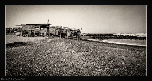 Fishermen shacks Masirah