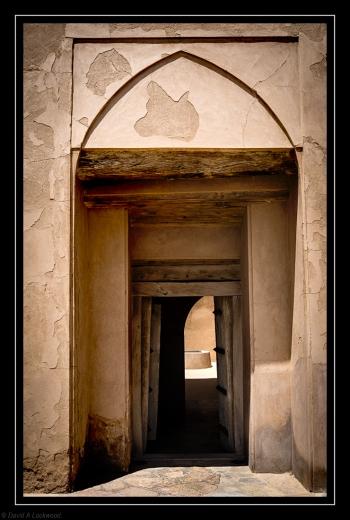 Entrance - Jabrin Fort