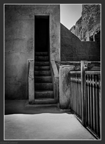 Steps & Fence Jabrin