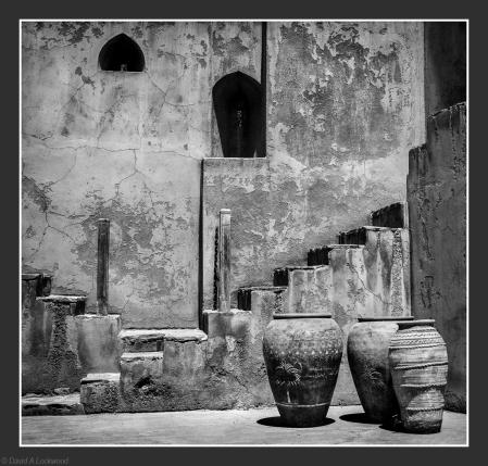 Three pots.