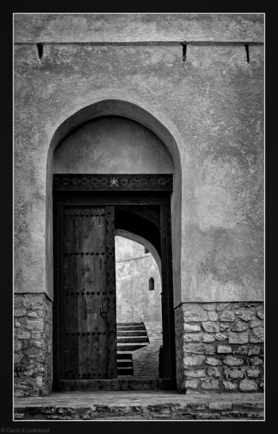 Samail fort entrance.