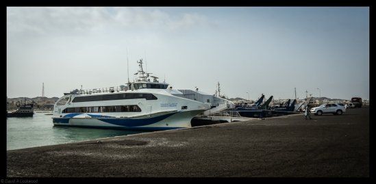 New Masirah ferry