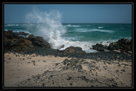 Rough sea Masirah