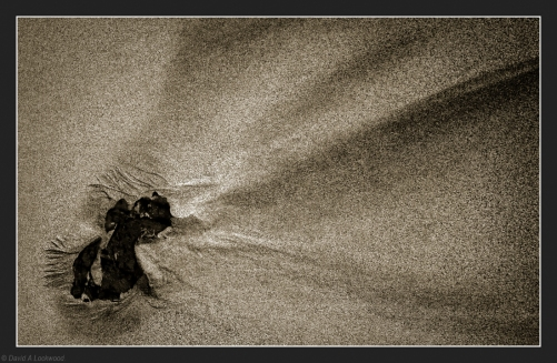 Sand comet