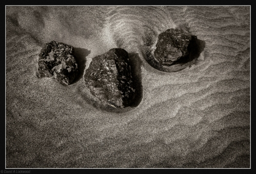 Three little stones