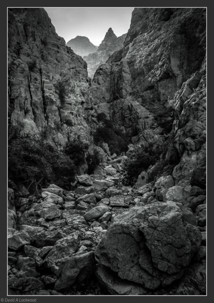 Wadi rocks.