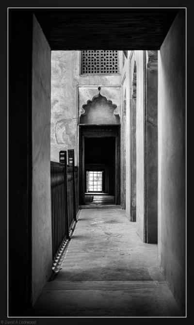 Corridor Jabrin Fort.