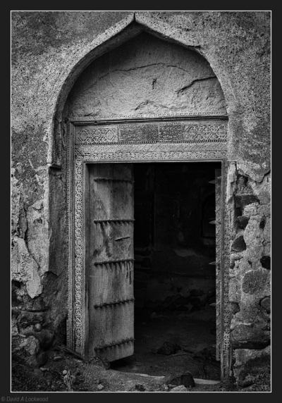 Door in Arch