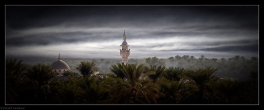 Early morning mist - Nakhal diffused