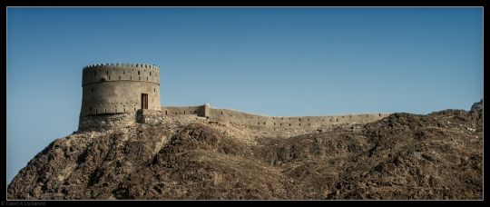 Samail fort & wall