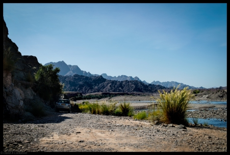 Camp site - Wadi Tayeen
