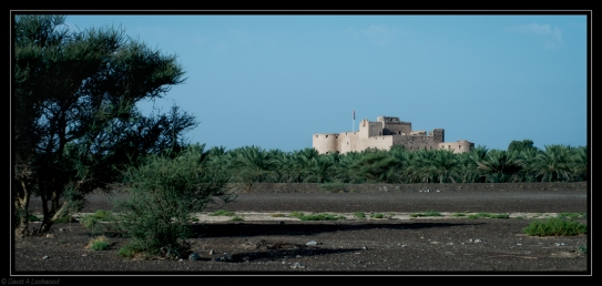 Jabrin Fort early morning