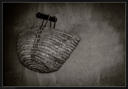 Basket in shadow