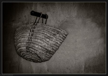 Basket in shadow
