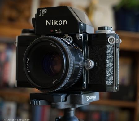 AF Nikkor lens converted