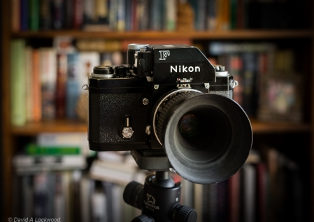 Nikon F with FTn finder.