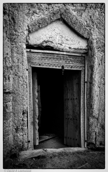 Remains of a fine door No2