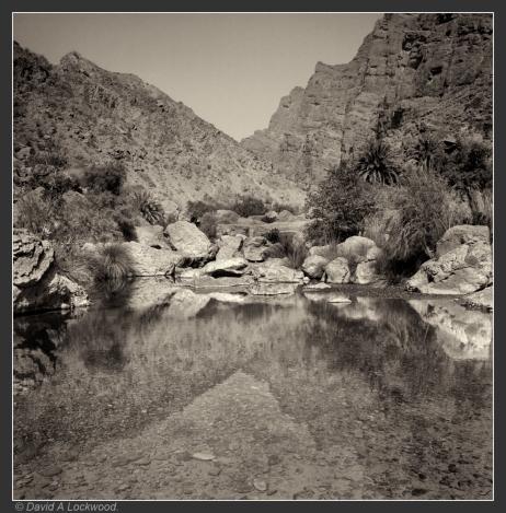 Wadi Bani Habib - pool