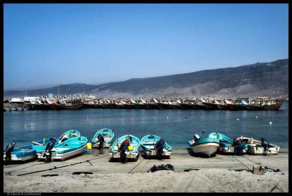 Fishing boats Dhofar