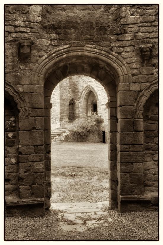 Arches - Ludlow castle.
