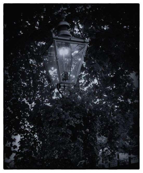 Malvern Gas Lamp.