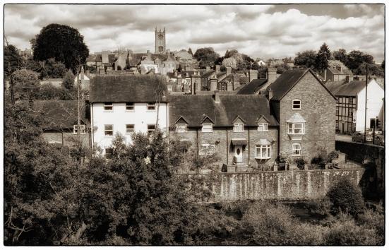 Ludlow town.
