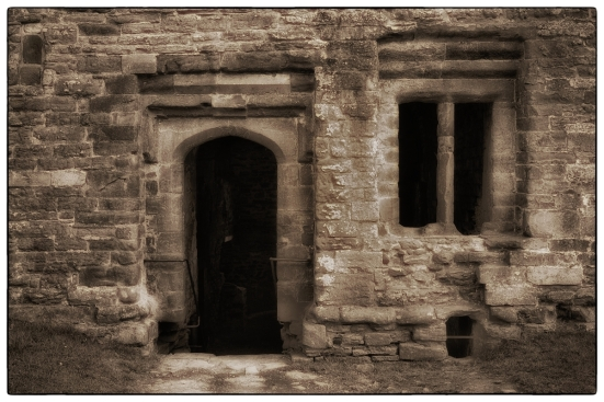 Door & Window - Ludlow castle.