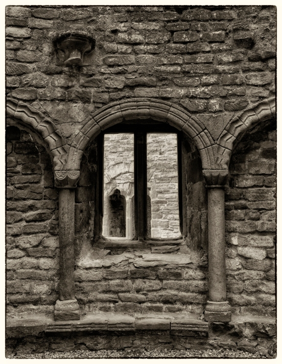Windows - Ludlow castle.