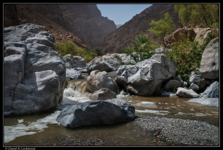 Wadi in flood
